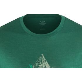 Icebreaker M's Tech Lite Sum of Parts SS Crewe Shirt Dark Pine